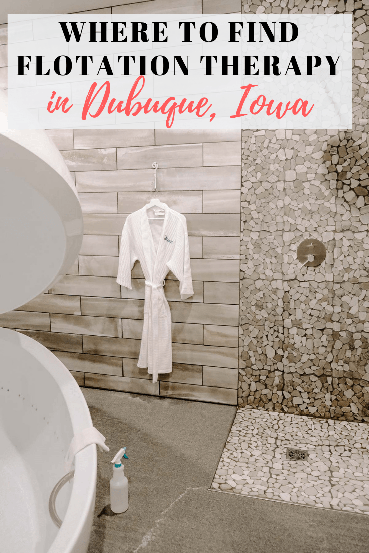 Curious about flotation therapy? Want to try it but not really sure what it is? This post goes into floatation therapy and where you can find it in Dubuque, Iowa!