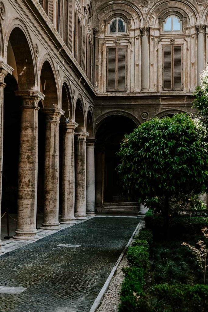 Doria Pamphili Gallery in Rome, Italy
