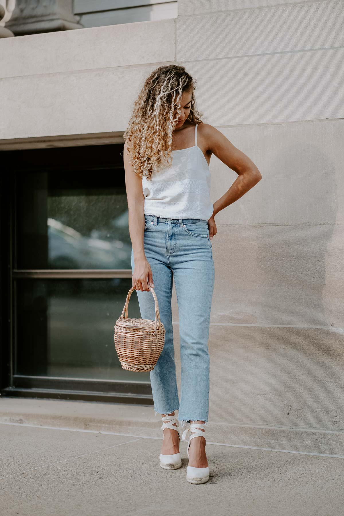 Must have French girl shoes are espadrilles for the summer