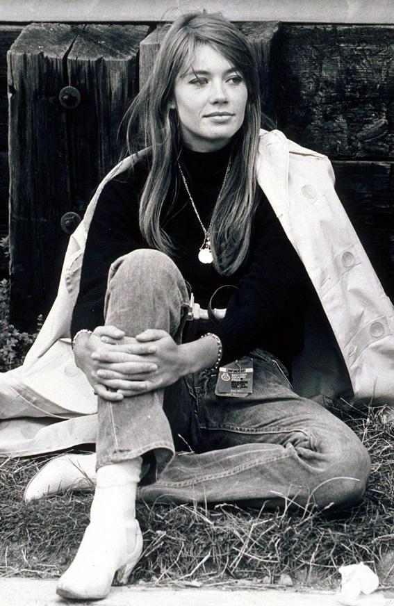 Françoise Hardy outfit