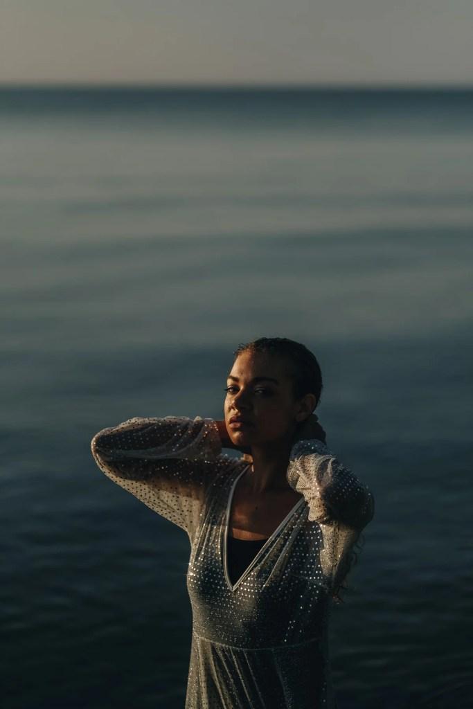 sunrise beach editorial photoshoot
