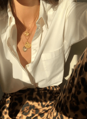 leopard print french style