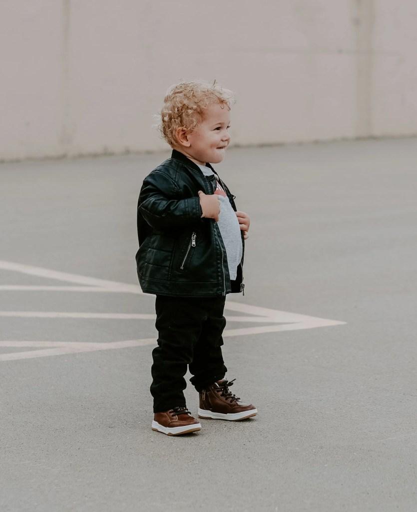 toddler boy motorcycle jacket