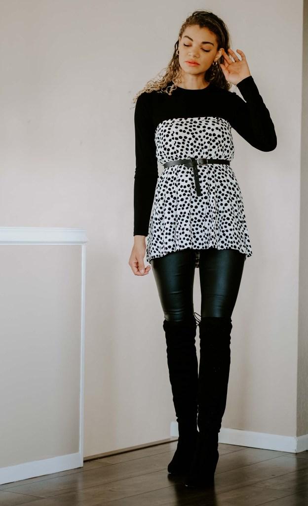 skirt worn as a top