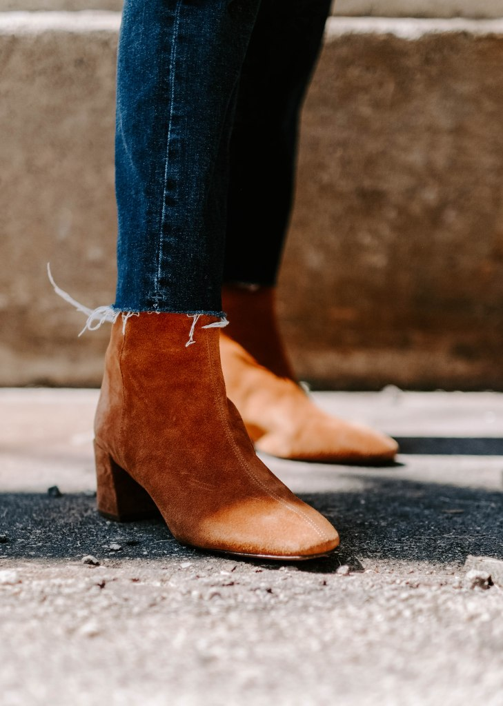 suede boots outfit