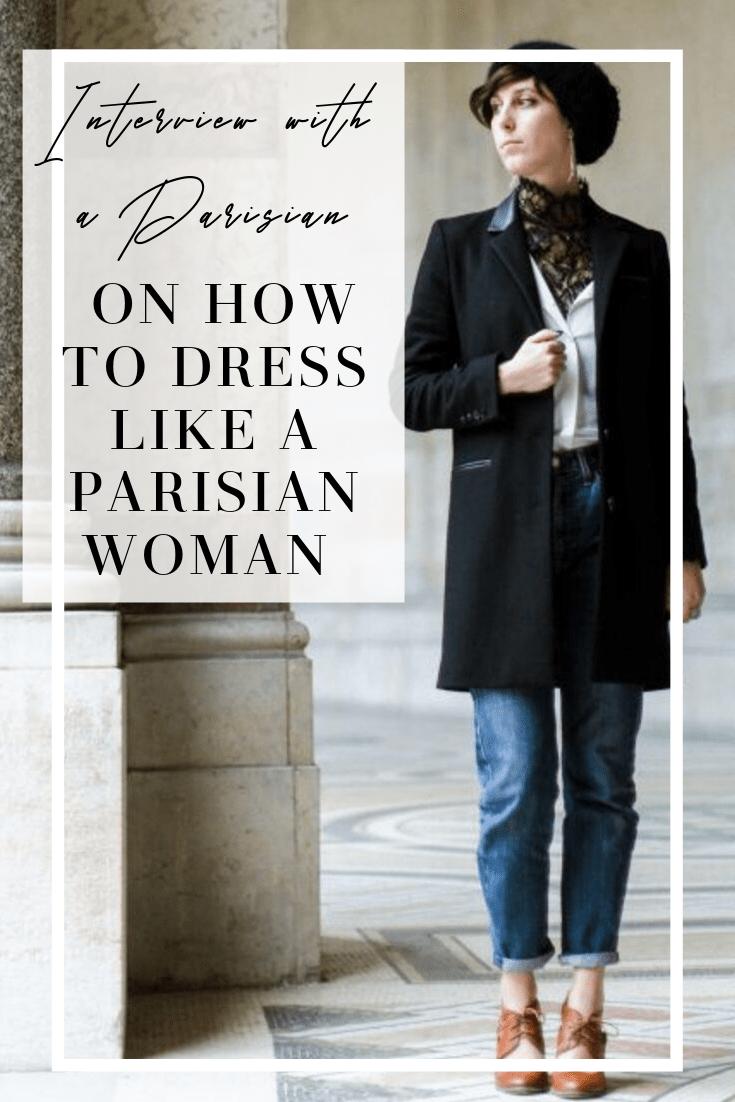 dress like a Parisian woman