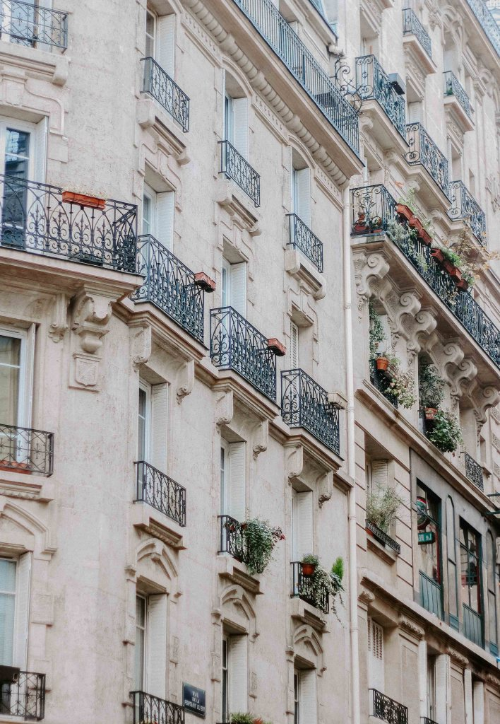 Paris photography in the fall
