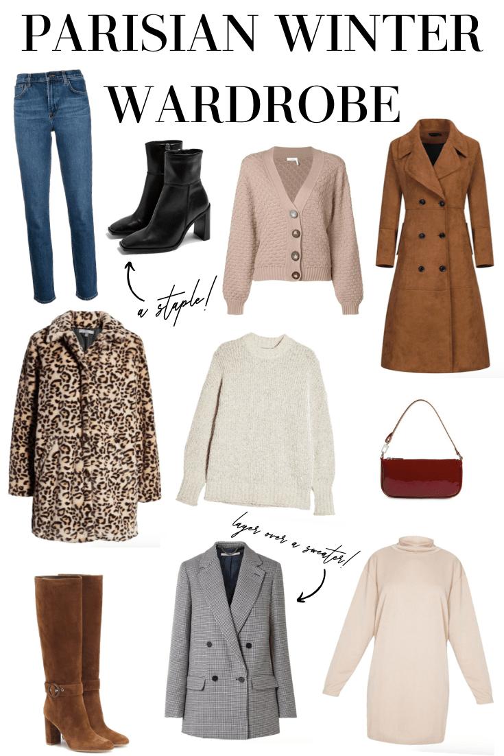 Parisian winter wardrobe