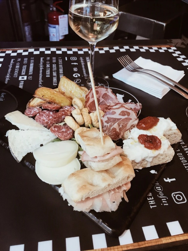 appetizers in Rome