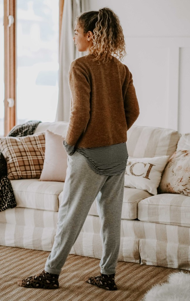 cozy at home outfits