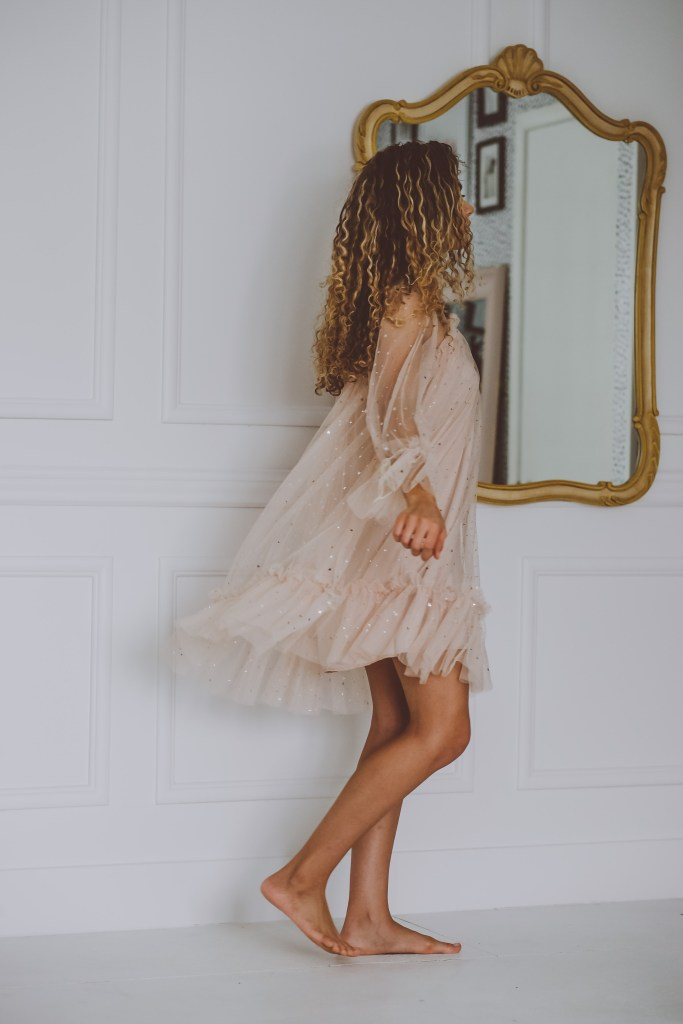 spring dress photography
