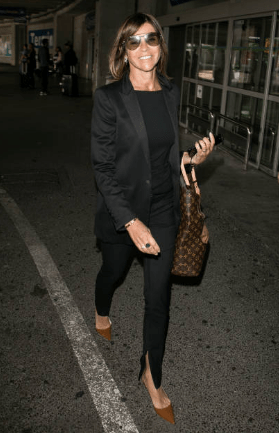 all black outfit french woman over 50