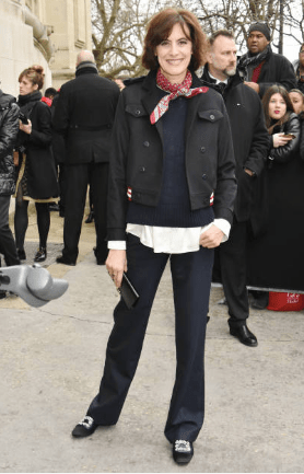 outfit idea french woman over 50