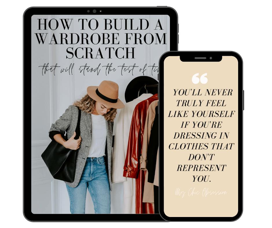 build a wardrobe