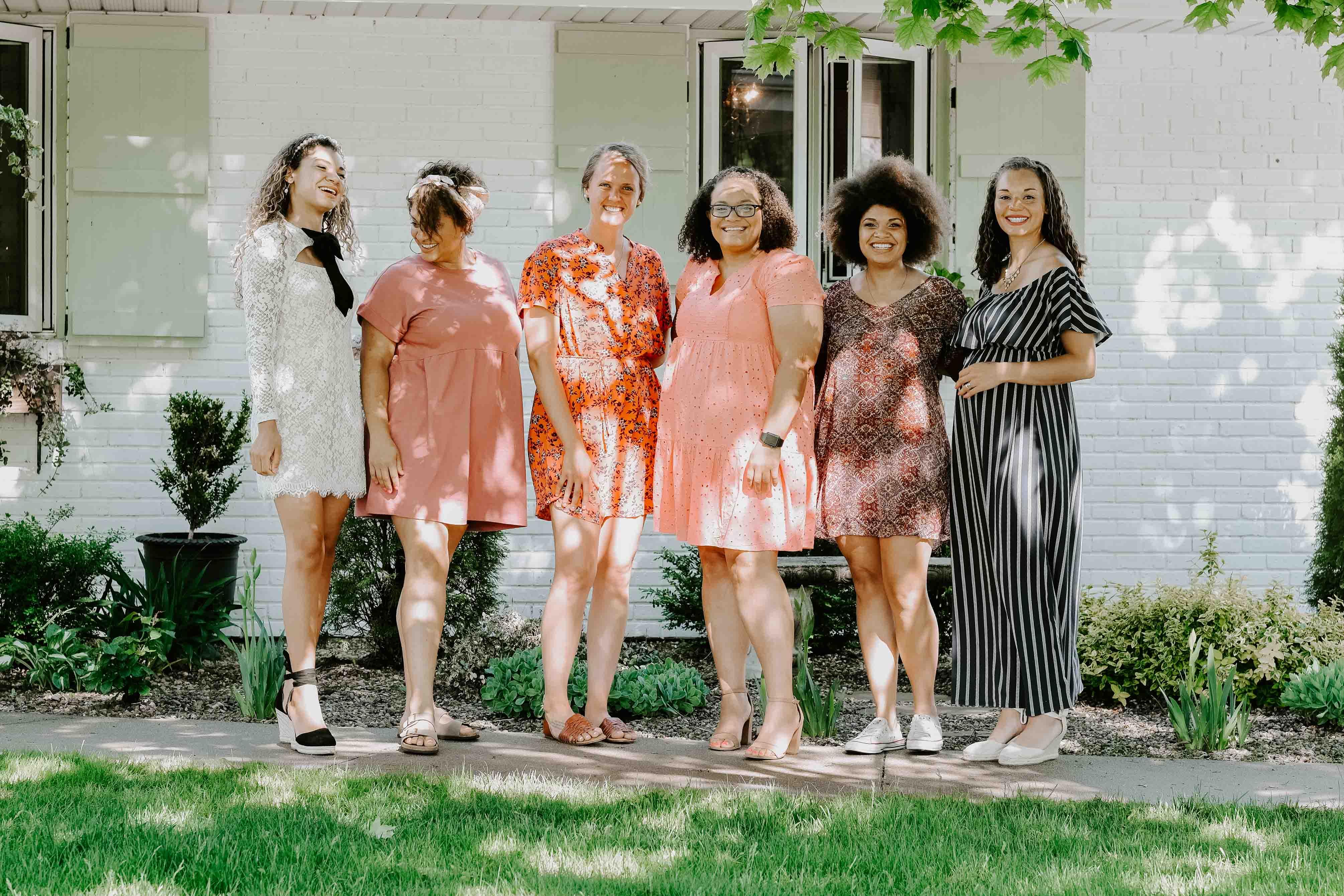 girls tea garden party