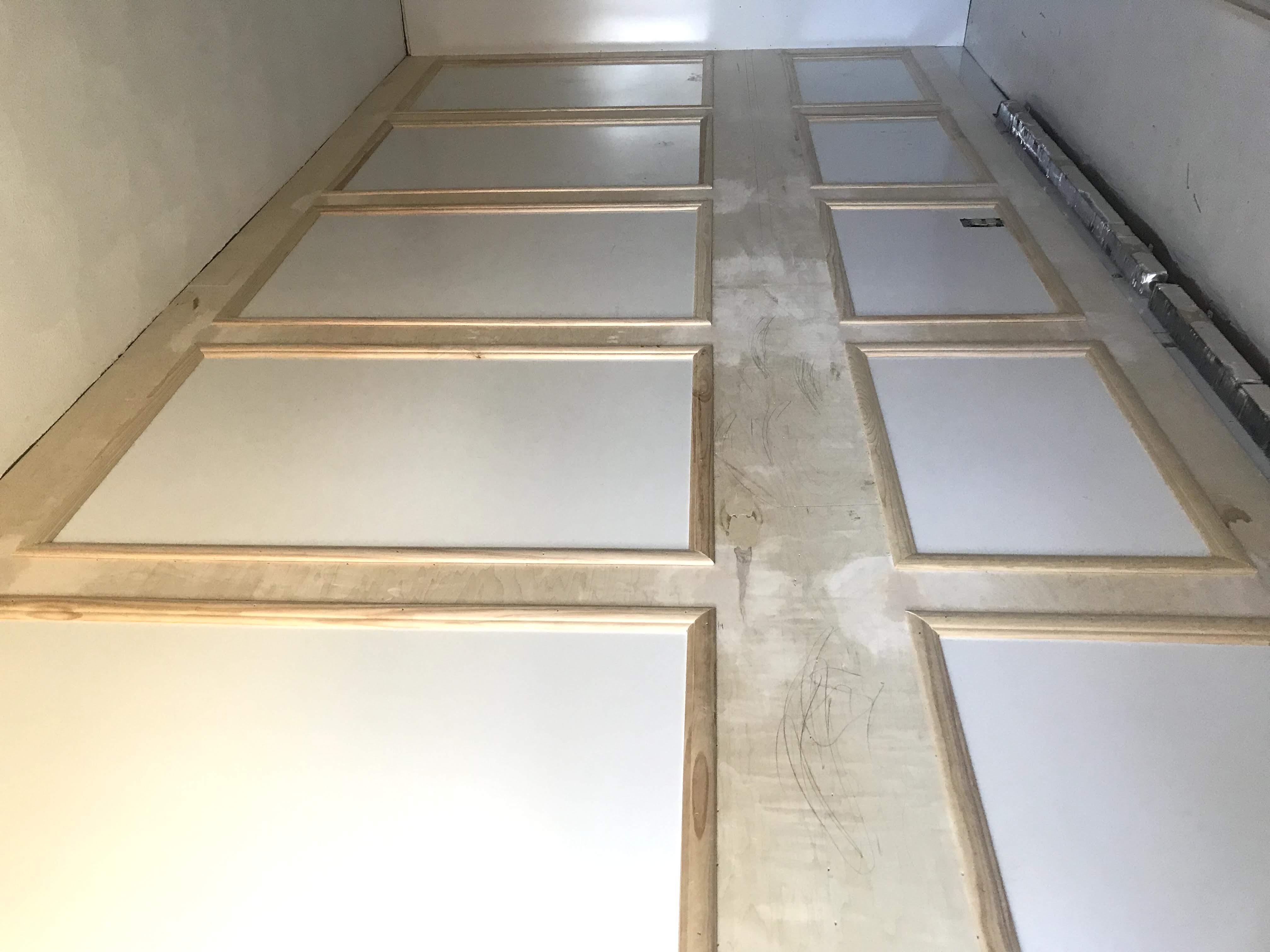 parisian wall panelings before