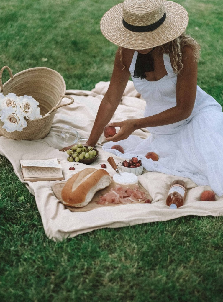 outdoor summer picnic