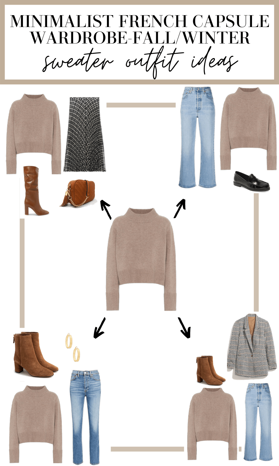 sweater outfit ideas