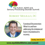 018: Robert Melillo – Functional Disconnection: What it is and how addressing the imbalanced brain is foundational to recovery.