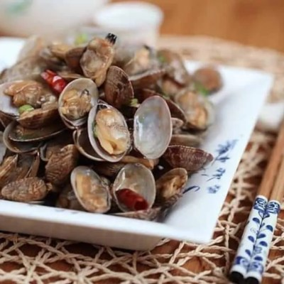 Chinese Spicy Fried Clams Recipe