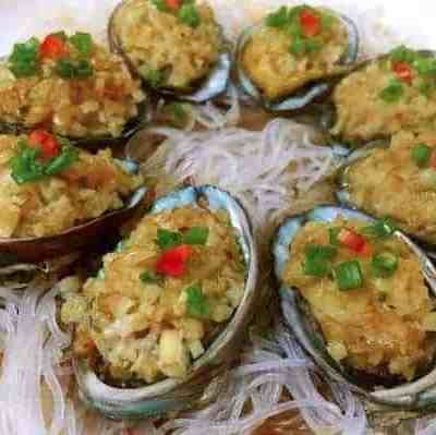 Steamed Abalone With Minced Garlic Recipe