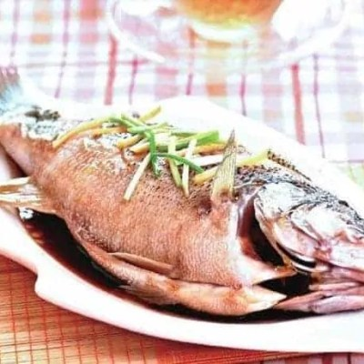 Chinese Steamed Bass Fish Recipe