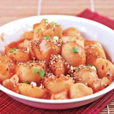 Chinese Steamed Potato Ball with Sesame Recipe