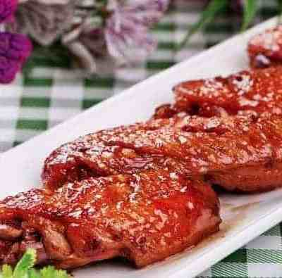 Chinese Braised Chicken Wings With Red Wine
