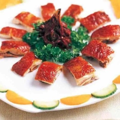 Chinese Roasted Chicken Skin Slice Recipe