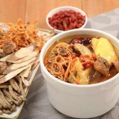 Cordyceps Flower Chicken Soup Recipe