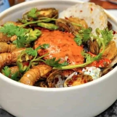 Assorted Seafood Stew in Abalone Flavour Recipe