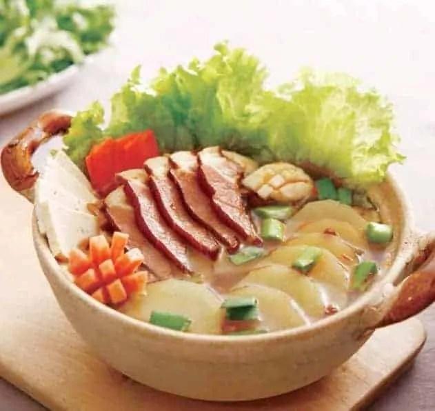 Chinese Salted Pork Hot Pot Base Recipe