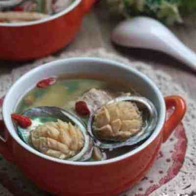 Stewed Abalone With Lean Pork Soup