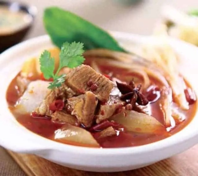 Broad Bean Paste Flavour Beef Hot Pot Recipe