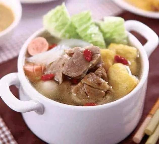 Chinese Stewed Lamb Hot Pot Recipe
