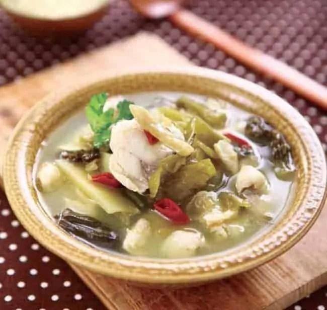 Pickled Fish Hot Pot Recipe