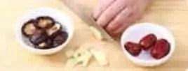 Shiitake Mushroom Flavour Chicken Hot Pot Base step1