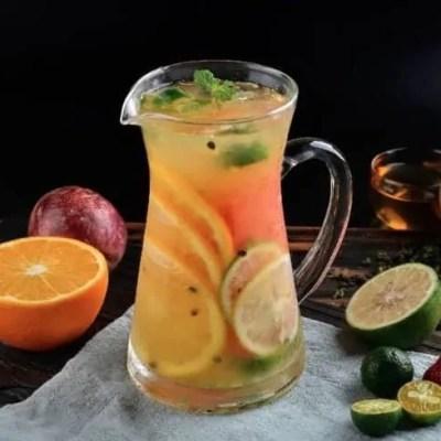 Fruits Variety Green Tea Recipe