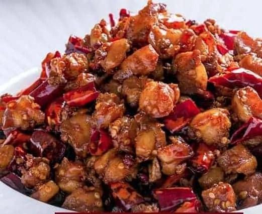 Spicy Chicken Gristle