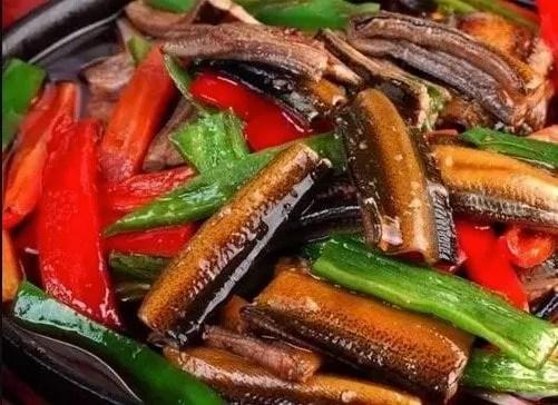 Stewed or Braised Eels