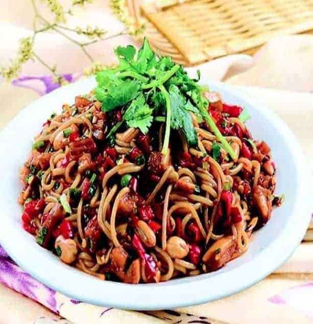 Chinese Dried Rice Noodles Recipe