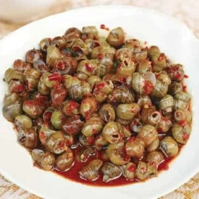 Chinese Stir fried River Snails Recipe