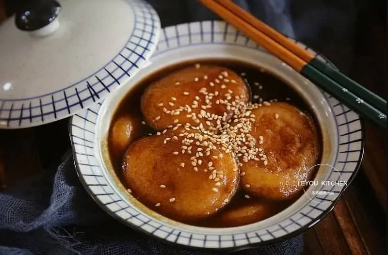 Honey Glutinous Rice Cake Recipe