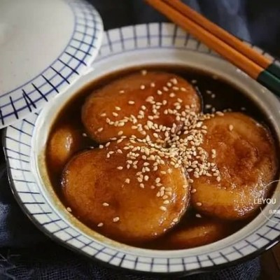 Honey Glutinous Rice Cake Recipe