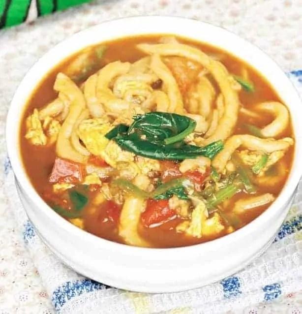 Shanxi Flavour Noodle Soup Recipe