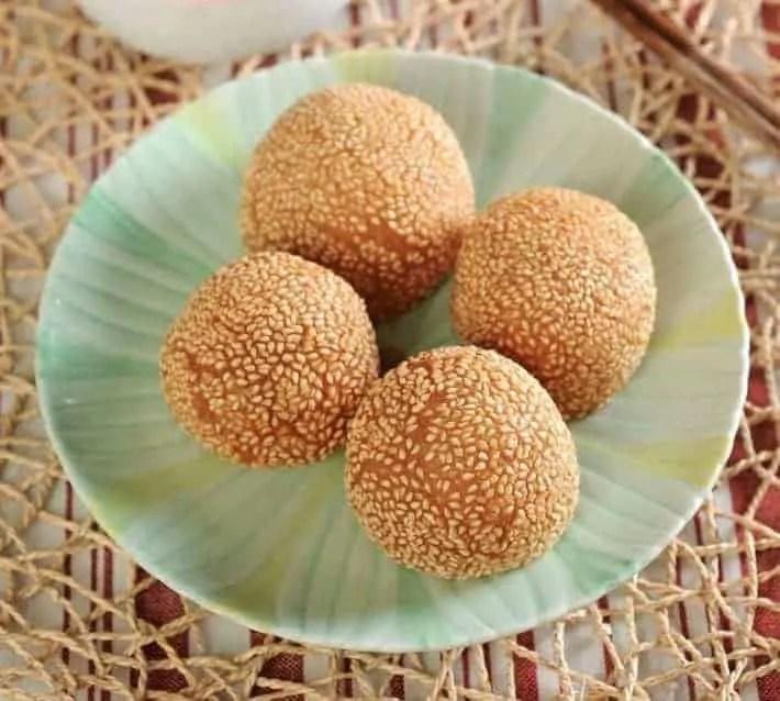 Red Bean Paste Glutinous Rice BallRecipe