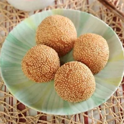 Red Bean Paste Glutinous Rice Ball Recipe