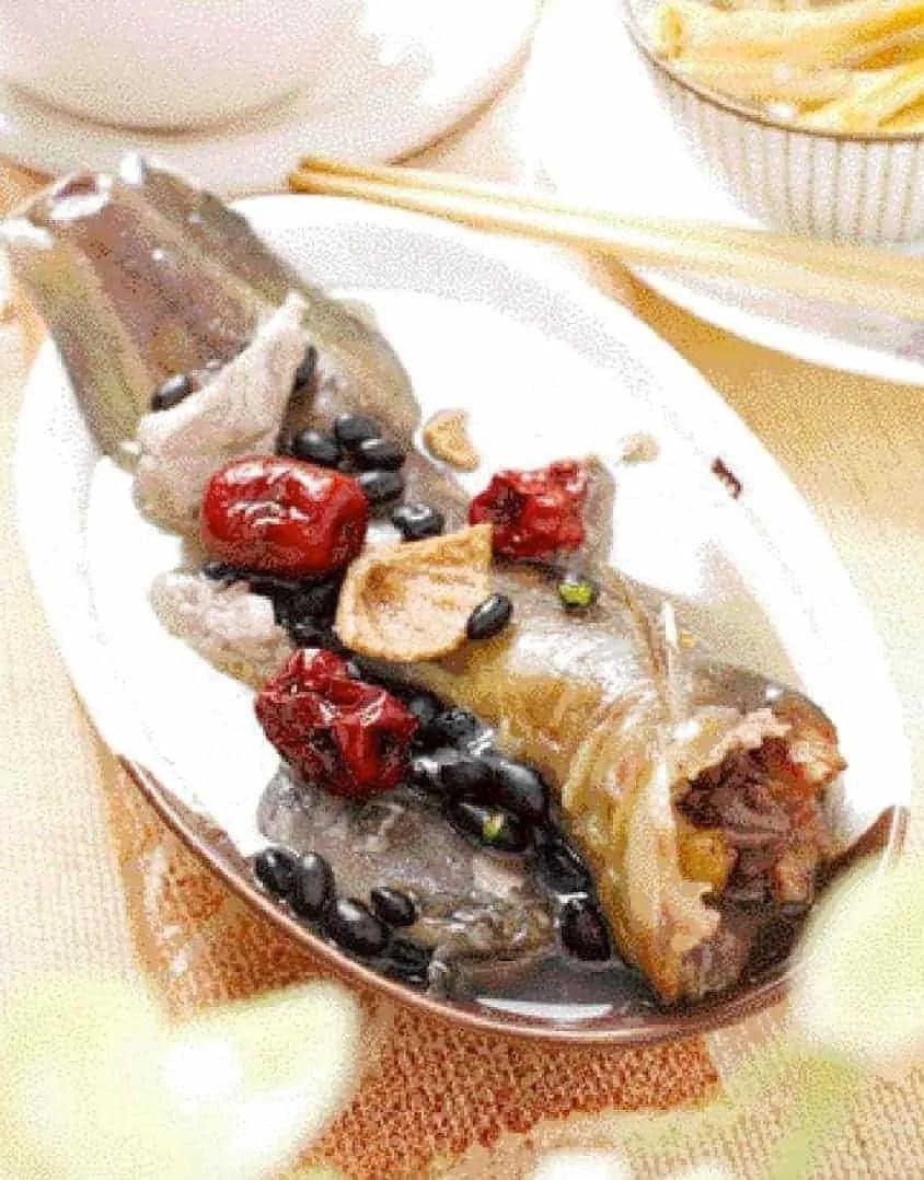Black Bean Catfish Soup Recipe