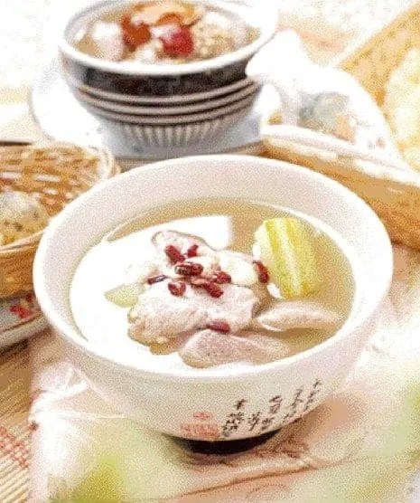 Cucumber with Pork Tenderloin Soup Recipe