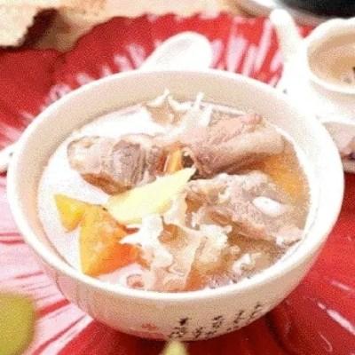 Pork Ribs and White Fungus Pawpaw Soup Recipe
